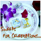 Sweets for celebration